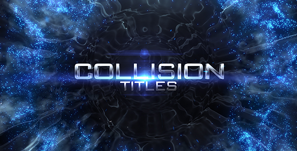 Videohive Collision Titles 19017315