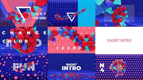 Videohive Color Intro 23835573