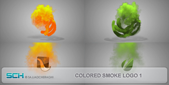Videohive Colored Smoke Logo 1 4497647