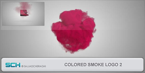 Videohive Colored Smoke Logo 2 4547990