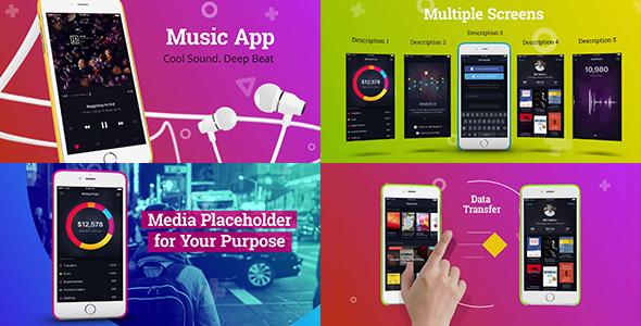 Videohive Colorful App Promo 15229229