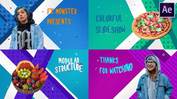 Videohive Colorful Cartoon Slideshow 26806586