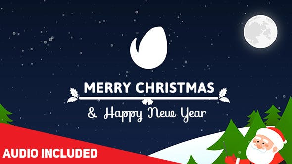 Videohive Colorful Christmas Card 13992219