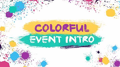 Videohive Colorful Event Intro 16412621