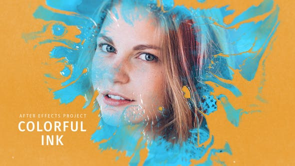 Videohive Colorful Ink 28138032