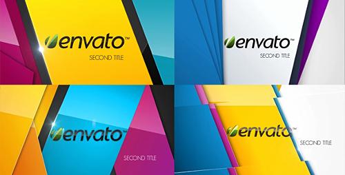 Videohive Colorful Logo Opener