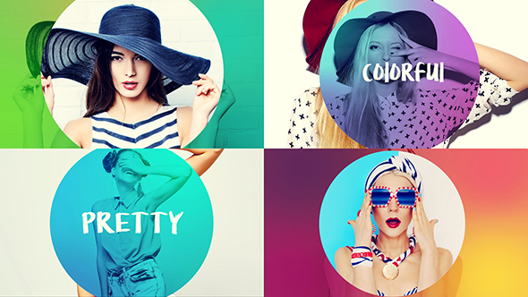 Videohive Colorful Opener 17327090