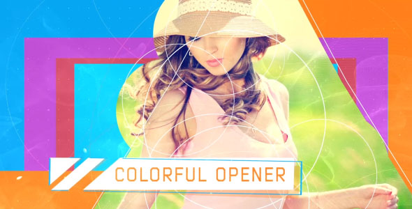 Videohive Colorful Opener 17727616