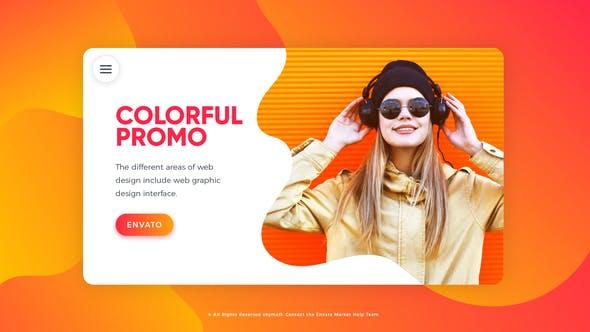 Videohive Colorful Promo 22061259