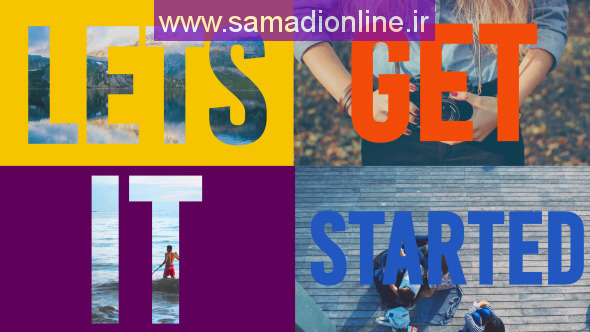 Videohive Colorful Slideshow - Dynamic Titles  -10955421