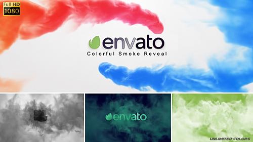 Videohive Colorful Smoke Reveal