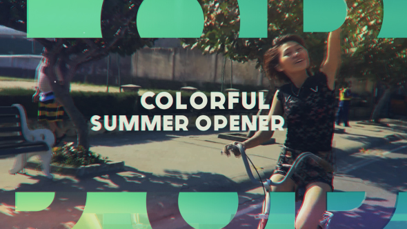 Videohive Colorful Summer Opener 17057880