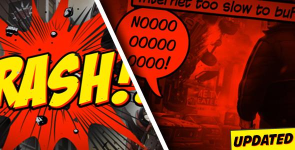 Videohive Comic Strip 8635917
