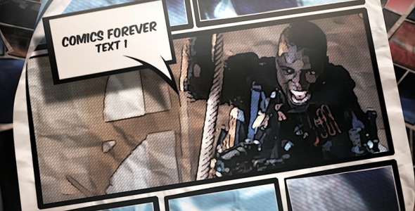 Videohive Comics Forever 7303347