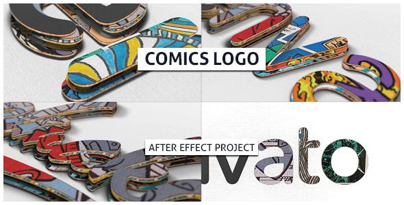 Videohive Comics Logo 21346895