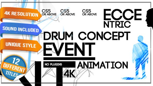 Videohive Conceptual Contemporary Artist Event Titles 10701043