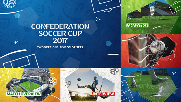 Videohive Confederation Football (Soccer) Cup Opener 20036000