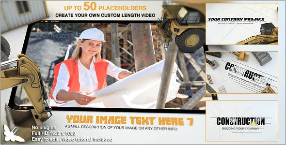 Videohive Construction Site Presentation 8676714