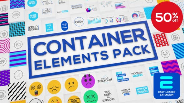 Videohive Container - Elements Pack 26607592