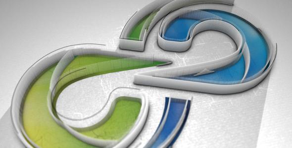 Videohive Contour Maze Logo 20045858