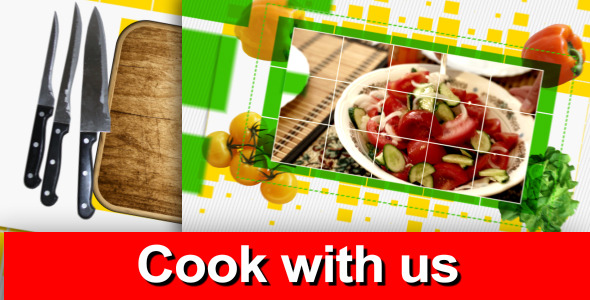 Videohive Cook With Us - Tv Pack 5295314