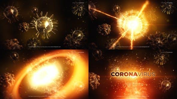 Videohive Corona Virus Destroy Opener 25745258