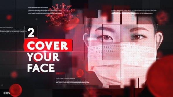 Videohive Corona Virus News Opener 26283771