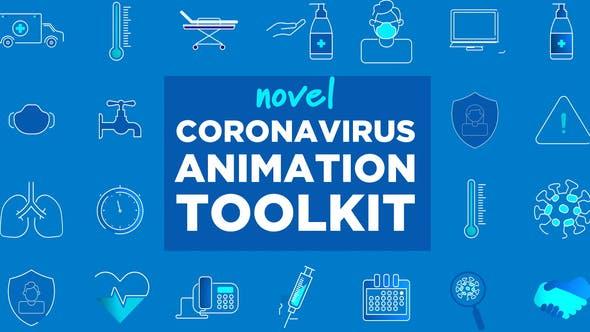 Videohive Coronavirus Animation Toolkit 26047512