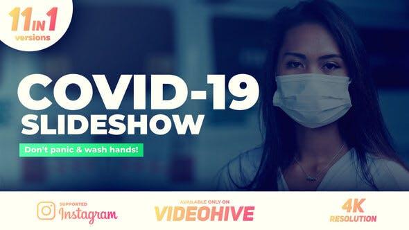 Videohive Coronavirus Covid-19 Slideshow 26355175