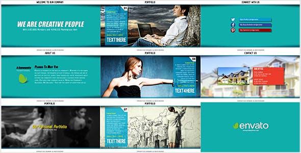 Videohive Corporate And Portfolio Presentation 5596258