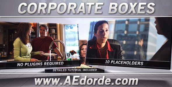 Videohive Corporate Boxes 1040597