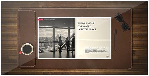 Videohive Corporate Brochure - Photo Slide Opener 18435166