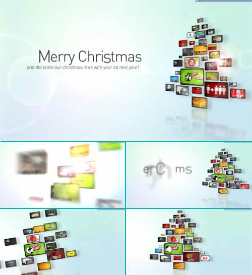 Videohive Corporate Christmas Tree 71971