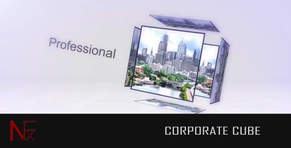 Videohive Corporate Cube 2048367