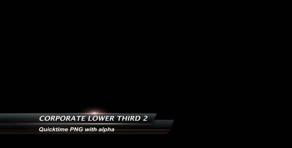 Videohive Corporate Lower Third2