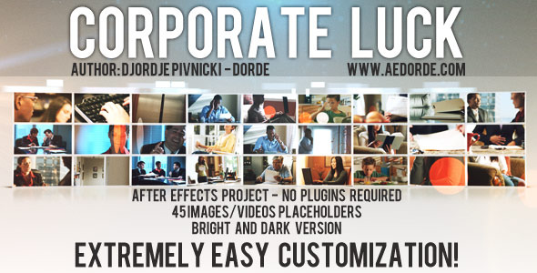 Videohive Corporate Luck 536591