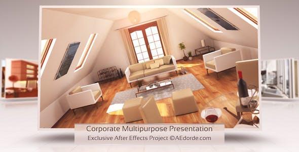 Videohive Corporate Multipurpose Presentation 9453173