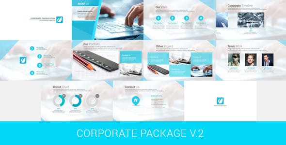 Videohive Corporate Package V.2 5414413