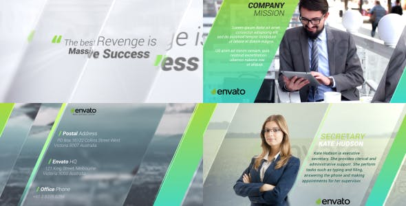 Videohive Corporate Presentation 2 15715284