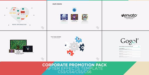 Videohive Corporate Promotion Pack 6646228