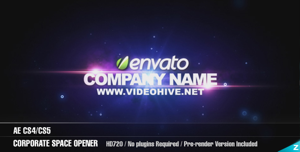 Videohive Corporate Space Opener.162307