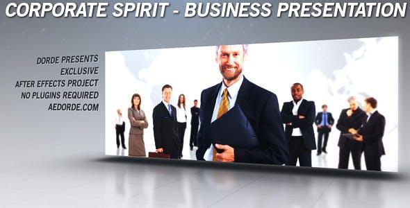 Videohive Corporate Spirit - Business Presentation Gallery Portfolio 2965818