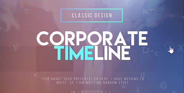 Videohive Corporate Timeline 20579511