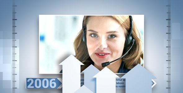 Videohive Corporate Timeline 4884782