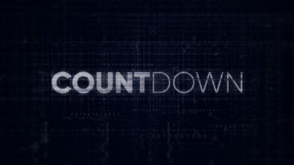 Videohive Countdown - Digital Opener 25418840
