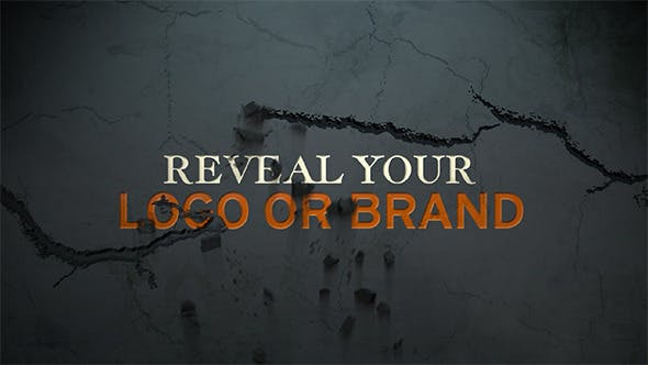 Videohive Cracks And Text Animation 3848341
