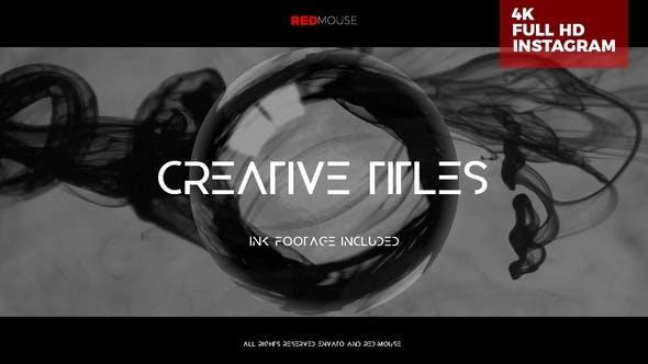Videohive Creative Titles 25509277