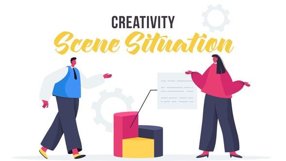 Videohive Creativity - Scene Situation 27643019