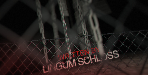 Videohive Crime Titles & Ink Reveal Tool