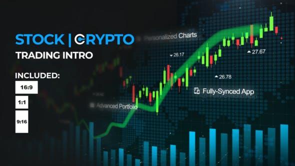 Videohive Crypto Stock Trading Intro 26887420